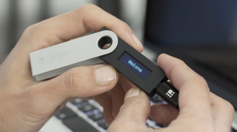 Ledger Nano S - one of the best hardware crypto wallets