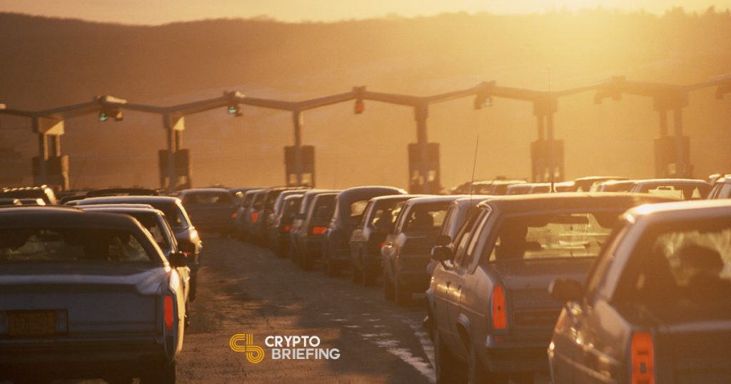 Road tax per mile driven could be governed by smart contracts on the blockchain instead of tolls and taxes