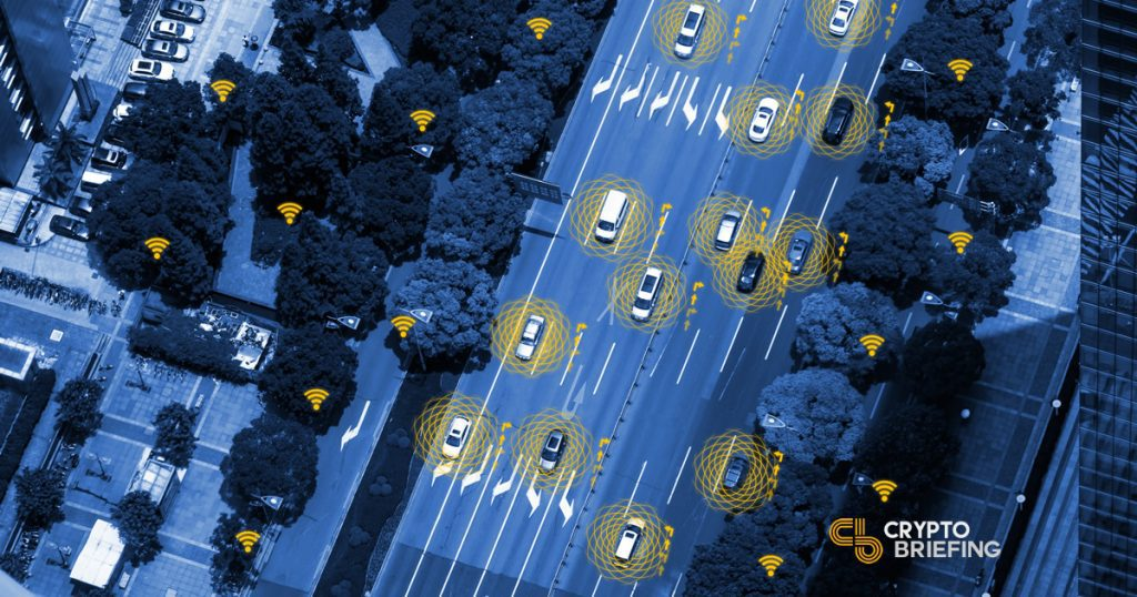 Pooling Manufacturer Self-Driving Data - Blockchain changing the way we drive through IoT data and AI