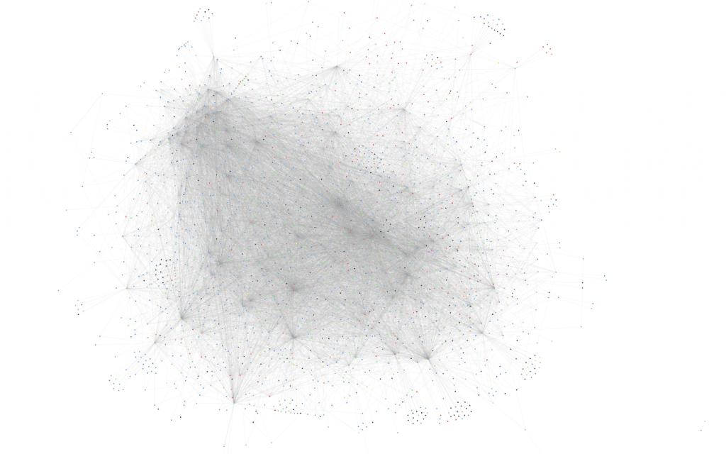 Graph of Lightning Network Nodes