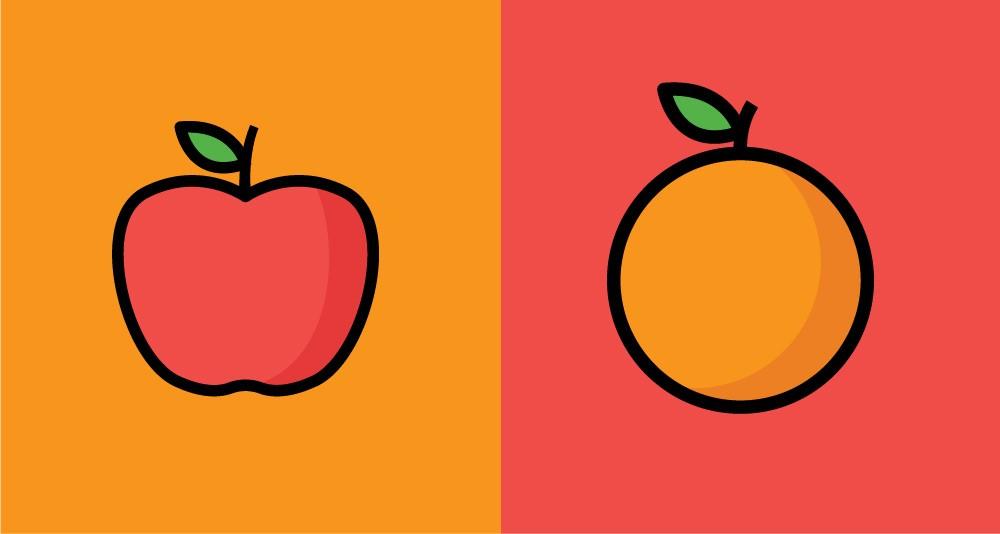51 percent attack apples and oranges