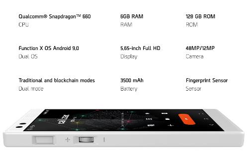 Pundi X XPhone specifications