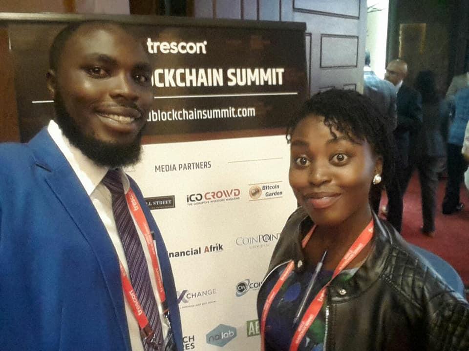 RideSafe founder at the blockchain summit