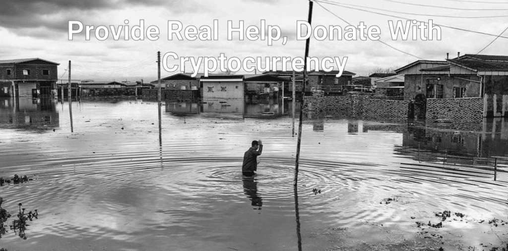 Provide Real Help, Donate With Cryptocurrency