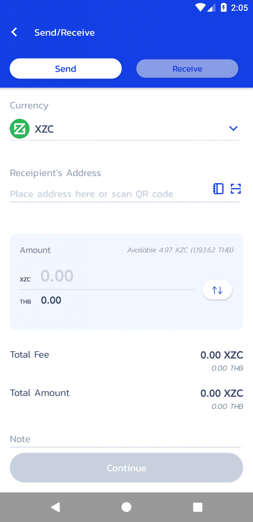 Pay Merchants With Zcoin (XZC)