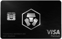 Obsidian Black MCO Visa Card by Crypto.com