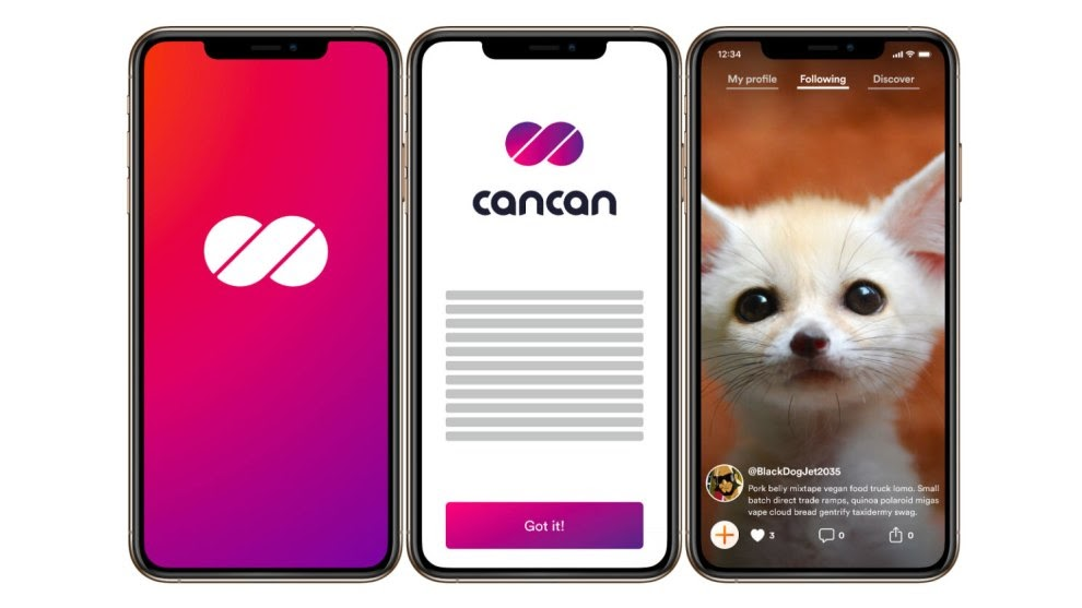 Showcasing Dfinity's CanCan app