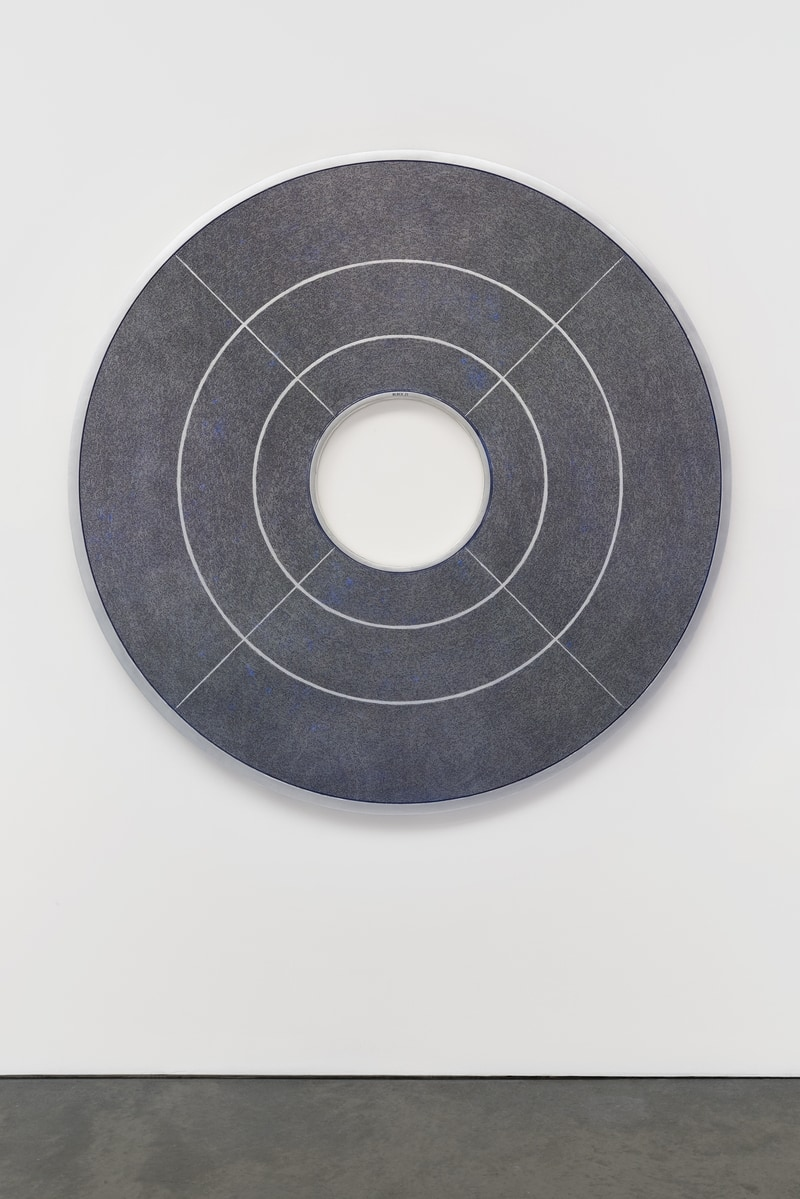 """Benjamin Gentilli's """"Portraits of a Mind"""" inscribed disk containing 322,047 hand inscribed lines of Bitcoin's first version release v0.1.0"""