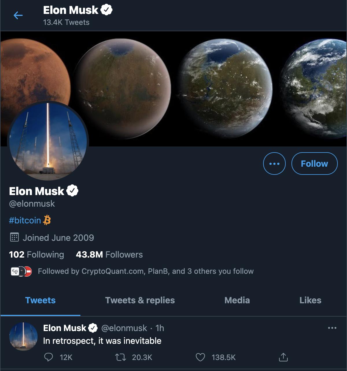 Elon Musk's Twitter by Twitter