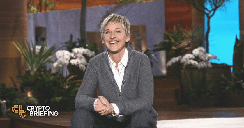 Ellen DeGeneres Sells NFT, Talks About Dogecoin