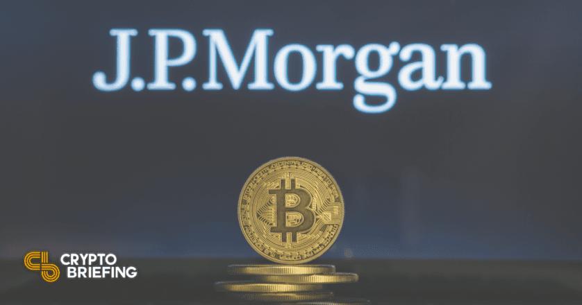 Bitcoin Could Crash Further, Says JP Morgan
