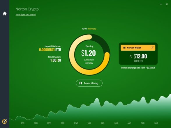 Norton's Security Suite Will Let Users Mine Ethereum | Crypto Briefing
