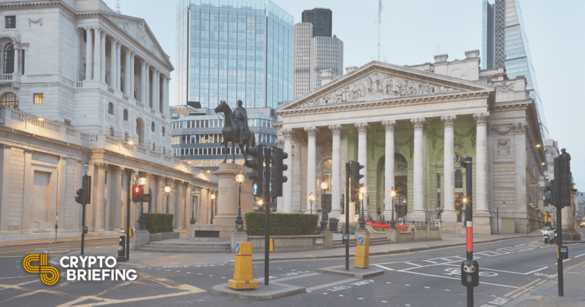 Bank of England Says Stablecoins Should Be Regulated