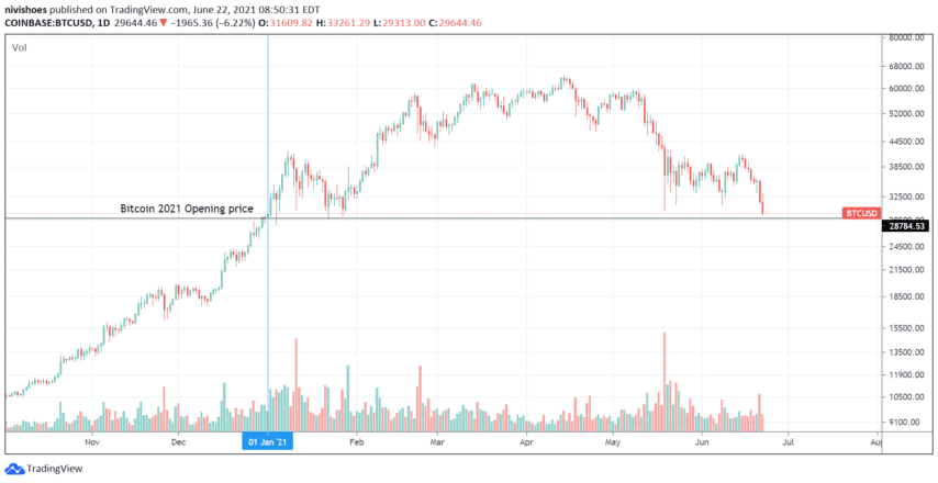 trading view chart