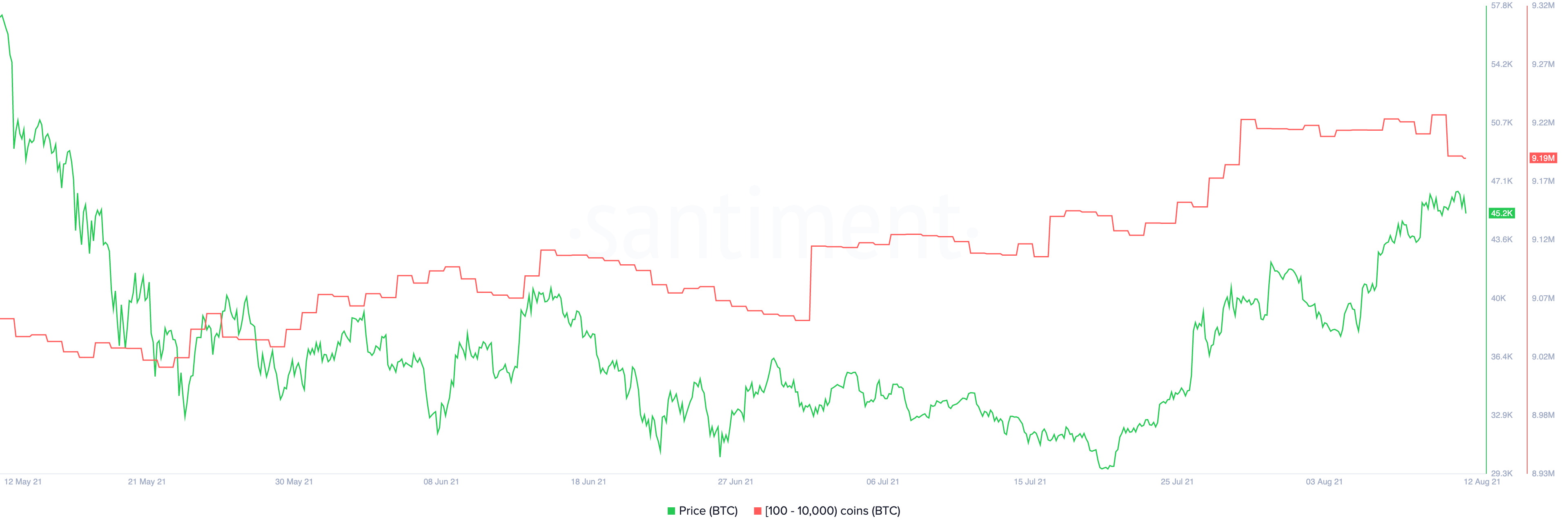 Bitcoin Supply Distribution