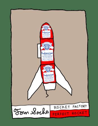 Cohete Budweiser
