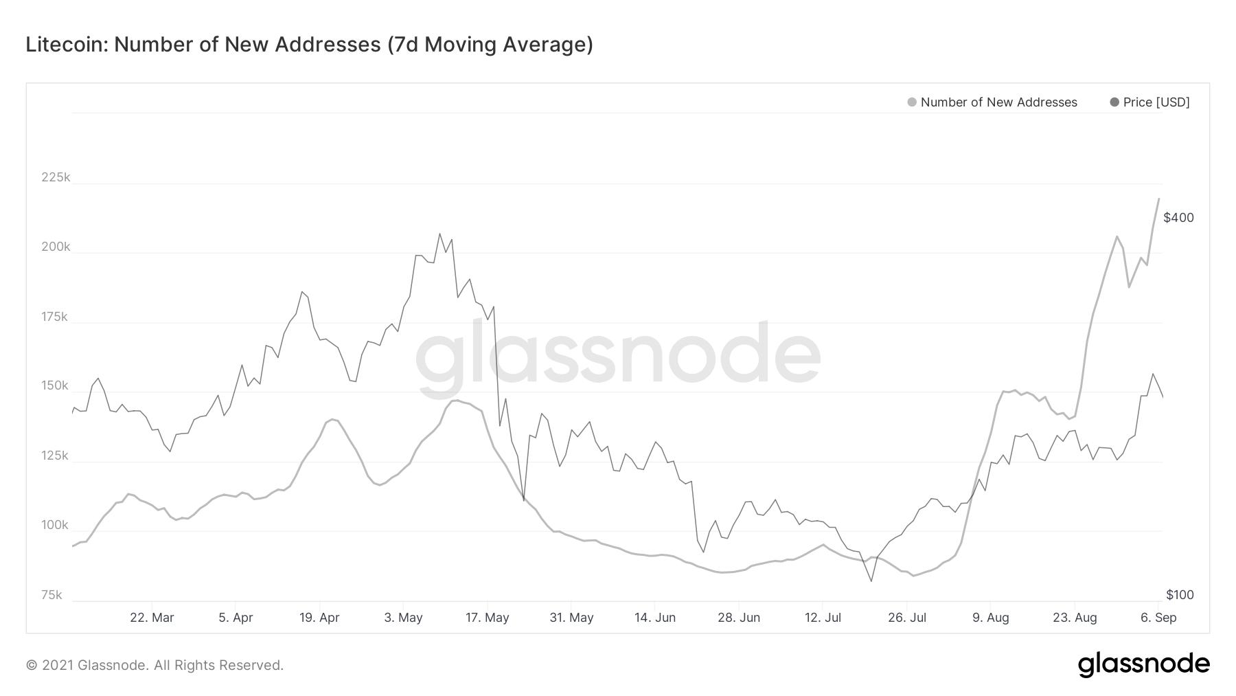 Litecoin Network Activity