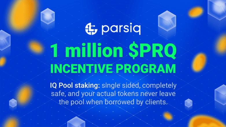 PARSIQ, IQ, and 1 Million PRQ