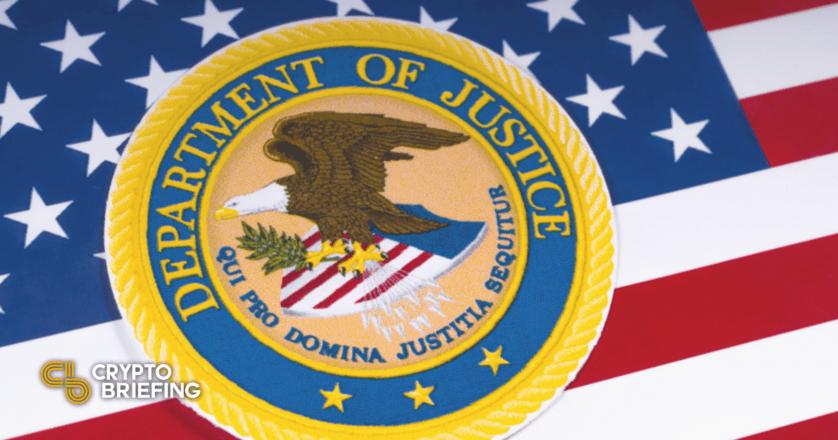 U.S. DOJ Launches Crypto Enforcement Team